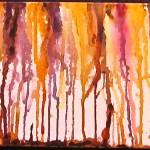 Golden Swamp Vines , by Lauren McKinley Renzetti