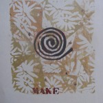 Make with Black Spiralby Lauren McKinley Renzetti