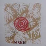 Make with Red Spiralby Lauren McKinley Renzetti