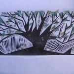 28. Triangle Treeby Lauren McKinley Renzetti