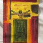 7.Leonardo Tribute I, by Lauren McKinley Renzetti
