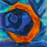 Cubist Moon by Lauren McKinley Renzetti