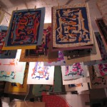 prints hanging to dry by Lauren McKinley Renzetti