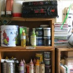 painting supplies by Lauren McKinley Renzetti