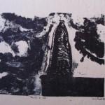 Monolith on Cliff, by Lauren McKinley