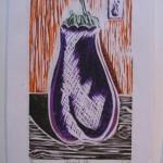Eggplant 3/4 by Lauren McKinley Renzetti