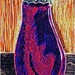 Austere Eggplant by Lauren McKinley Renzetti