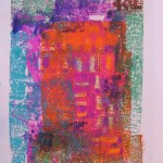 5. Blending Monoprint by Lauren McKinley Renzetti