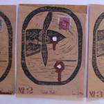 Dear John Letters No 1,2,3, by Lauren McKinley Renzetti
