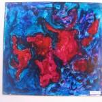 4. Crab Nebula 12 x 12 $40 by Lauren McKinley Renzetti