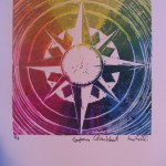 5. Colour Wheel Compass by Lauren McKinley Renzetti