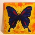 17. Butterfly 10 x 10 $40 by Lauren McKinley Renzetti