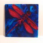 16.Dragon Fly 10 x 10 $40 by Lauren McKinley Renzetti
