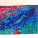 3. Whale, 8 x 10 $30 by Lauren McKinley Renzetti