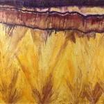 Fluorite Slab by Lauren McKinley Renzetti