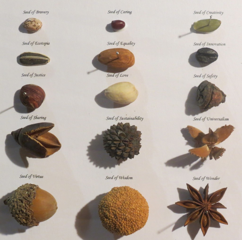 Hegelian Seed Collection: Seeds of the Future by Lauren McKinley Renzetti