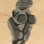 Venus of Willendorf by Lauren McKinley Renzetti