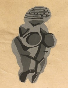 Venus of Willendorf by Lauren McKinley Renzetti