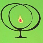 Unitarian Symbol, 3 colour $5 by Lauren McKinley Renzetti