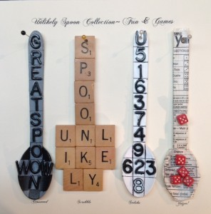 Fun & Games Spoons by Lauren McKinley Renzetti