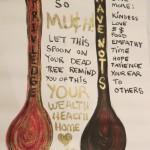 2 Spoons by Lauren McKinley Renzetti