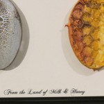 close up of milk & honey spoons by Lauren McKinley Renzetti