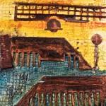 Factory Scape I by Lauren McKinley Renzetti