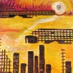 Factory Scape V by Lauren McKinley Renzetti