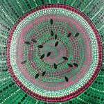 Sacred Circle: Watermelon Slice by Lauren McKinley Renzetti