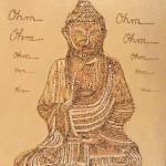 Buddha Meditation by Lauren McKinley Renzetti