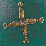 Brighid's Cross of Prosperity & Protection by Lauren McKinley Renzetti