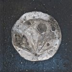 Modelled Moon by Lauren McKInley Renzetti