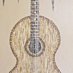 "classical sounds by lauren mckinley renzetti 12"" x 24"" $250"