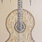 "classical sounds by lauren mckinley renzetti 12"" x 24"" $250"
