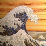 famous wave large by Lauren McKinley Renzetti